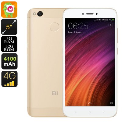 Android Phone Xiaomi Redmi 4X (32GB Gold)