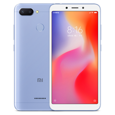 Xiaomi Redmi 6 Android Phone (Blue)