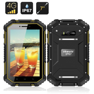 IP67 Rugged Android Tablet PC