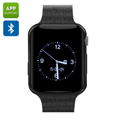 Bluetooth Wrist Watch Mobile (Black)