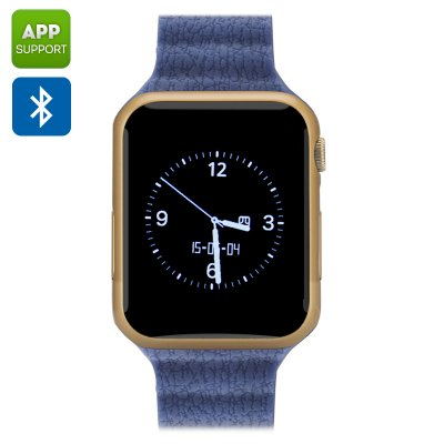 Bluetooth Wrist Watch Mobile (Gold)