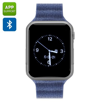 Bluetooth Wrist Watch Mobile (Silver)