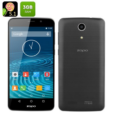 Zopo Speed Plus 7 Smartphone (Black)