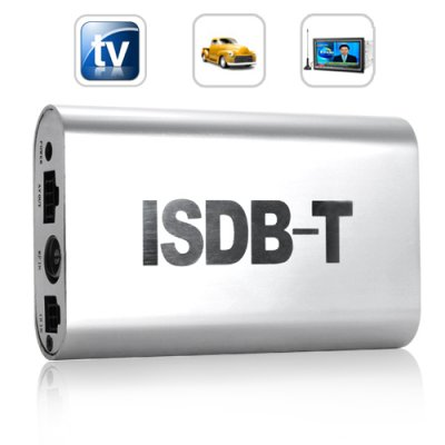 ISDB-T Digital TV Box for Cars (MPEG-4)