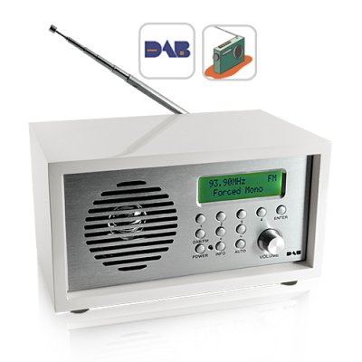 iRadio Portable DAB/FM Radio