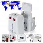 The only world travel adapter you will need  comes with USB charging port and works in over 150 countries  Visit the factory direct wholesa