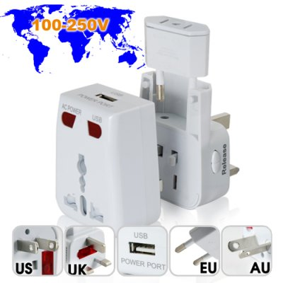 USB and AC Travel Adapter