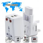 The only world travel adapter you will need  comes with USB charging port and surge protection and works in over 150 countries  Visit the factory direct   who