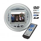 The smallest Portable DVD Player we have featured yet   Ultra small and lightweight  this new mini sized Portable DVD Player with a built in 3 5 inch LCD is per