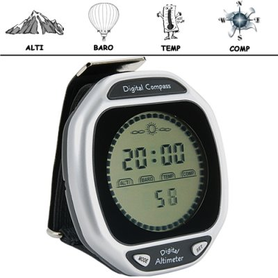 Compass, Altimeter, Barometer, Thermometer