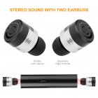 TWS Wireless Earphone Bluetooth Headset Black