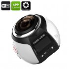 360 Degree 4K Action Camera (Silver)
