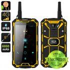 Conquest S8 Pro Rugged Smartphone (Yellow)