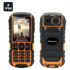 Huadoo H1 IP68 Rugged Cell Phone (Yellow)