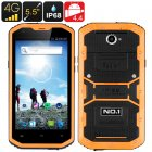 No.1 X2 4G LTE Smartphone (Yellow)