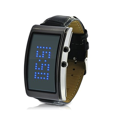Blue Romance LED Watch