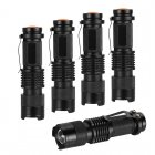 These 5 LED mini flashlights each pack a powerful 7W LED that produces up to 350 lumens of bright light