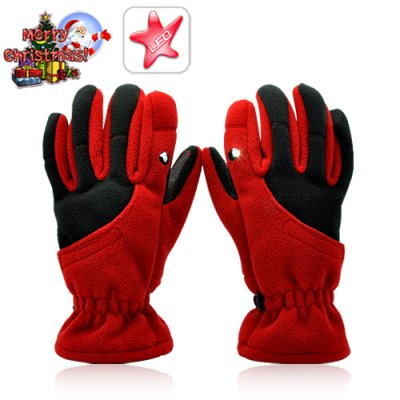 Gloves With LED Light