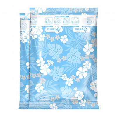 Thicken Compressed Vacuum Bag for Clothes Quilt Wardrobe Organize blue_60*40cm blue hand roll