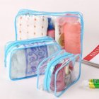 Thicken Cosmetic Bag Women Transparent Clear Zipper Makeup Bag Organizer Bath Wash Make Up Tote Handbag