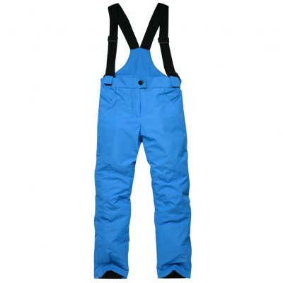 Thicken Windproof Warm Snow Children Trousers Winter Skiing and Snowboard Pants for Boys and Girls blue_S