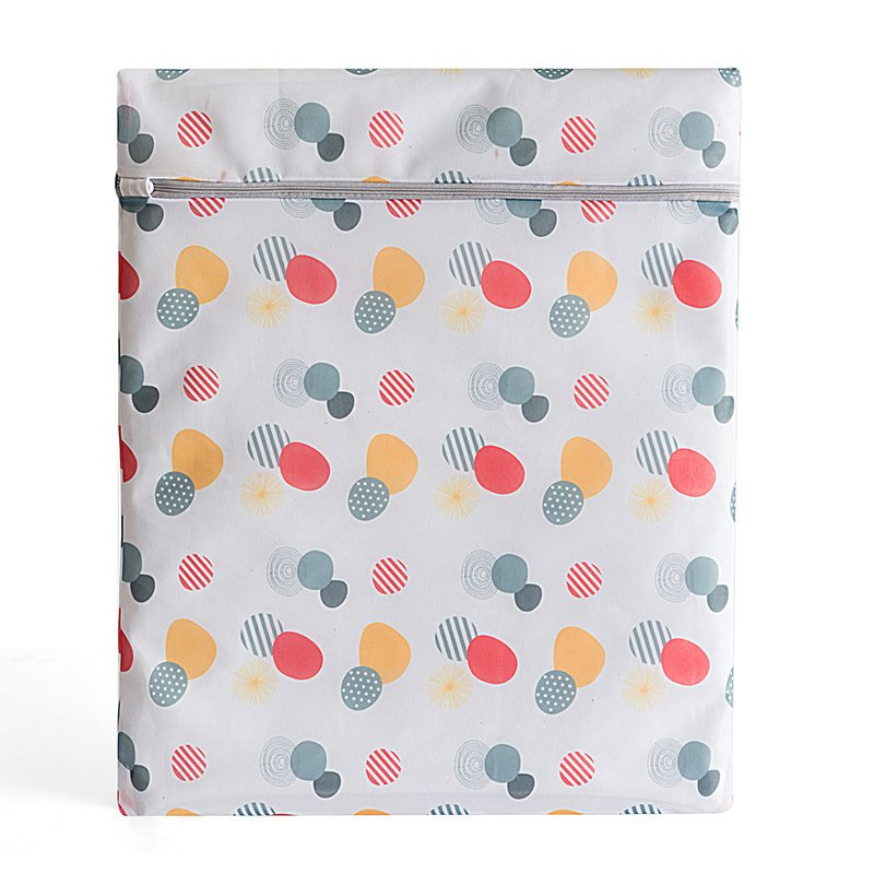 Thicken Zippered Laundry Bag for Bra Washing Machine Use 50*60cm