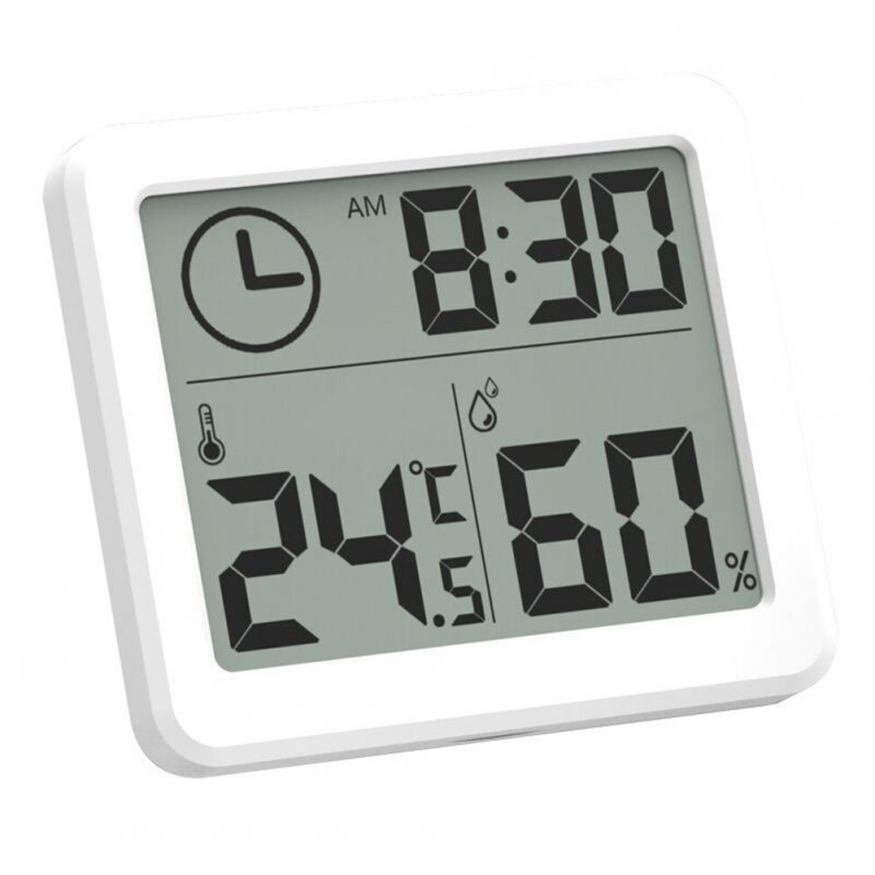 Thin Intelligent Electronic Clock Hygrometer