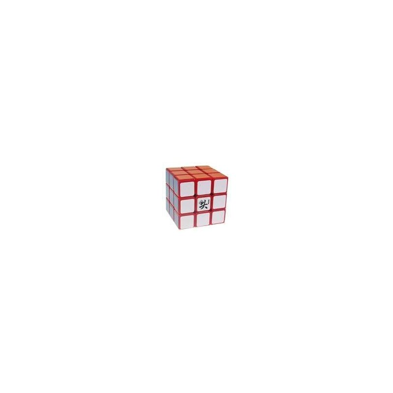 [US Direct] ThinkMax® 3x3x3 Red Puzzle Speed Cube