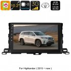 This 1 DIN car stereo for your Toyota Highlander brings all the latest Android features into your car  With its GPS navigation  you ll never get lost again