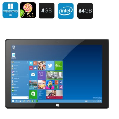 Windows10 + Android 5.1 Tablet PC