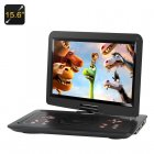 This 15 6 inch portable DVD player is pack full of features to make it easier and more enjoyable than ever to watch movies on the go