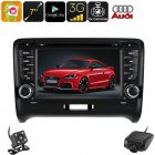 This 2 DIN Car DVD player for your Audi TT comes with an Android OS  It furthermore treats you to a GPS  car DVR  and rear view parking camera
