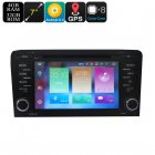 This 2 DIN car DVD player features an Android 8 0 1 OS and supports a highly accurate GPS navigation system