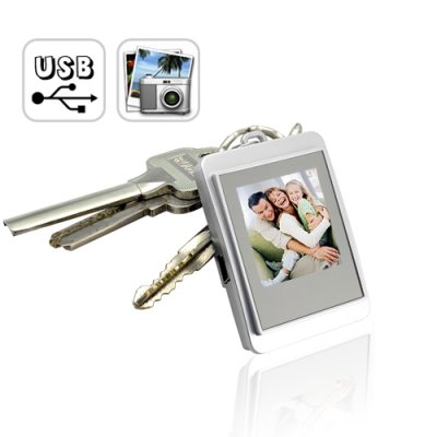 Wholesale 2GB Keychain Flash Drive + Digital Photo Frame From China