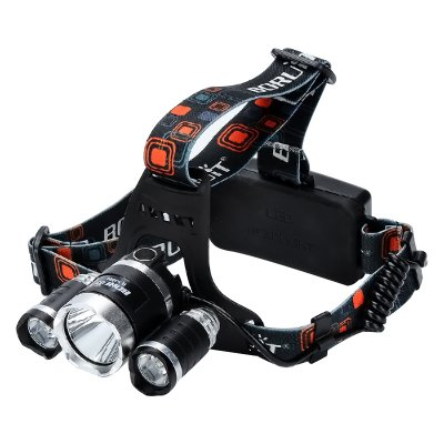 3 CREE XM-L T6 LED Head Lamp