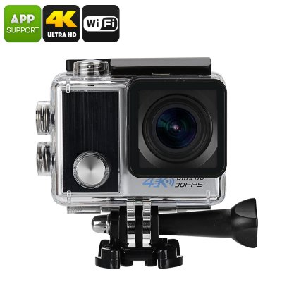 Ultra-HD 4K Action Camera (Silver)
