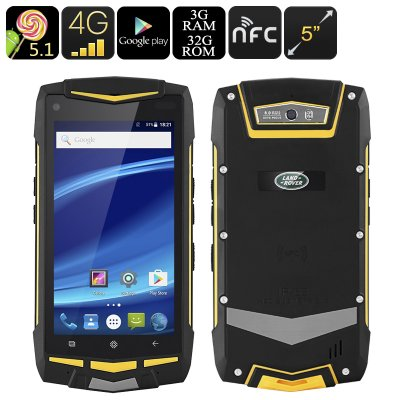 5 Inch Rugged Phone