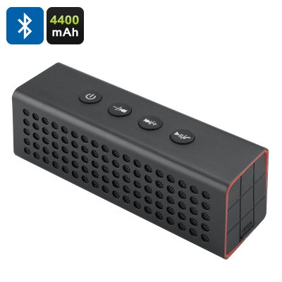 20W Bluetooth Speaker + Power Bank (Black)