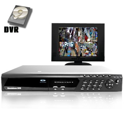 4 Channel PAL DVR MPEG 4 Network