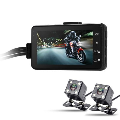 Dual-Camera Motorcycle DVR