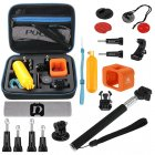 This Go Pro Accessory Kit comes with a wide range of accessories for your sports action camera