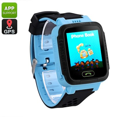 Kids GPS Tracker Watch (Blue)
