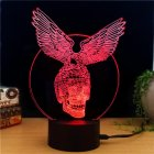 Black Hawk Knight 3D LED Color Light