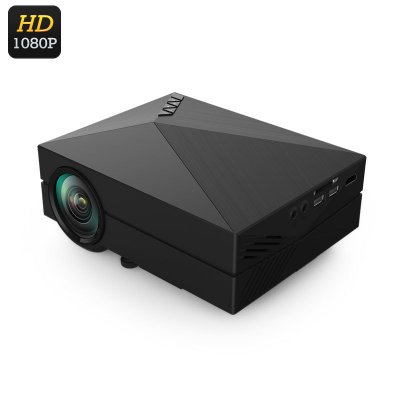 80 Lumen Portable Mini LCD Projector