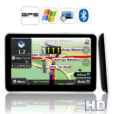 5 Inch Touch Screen GPS Navigator (Direct
