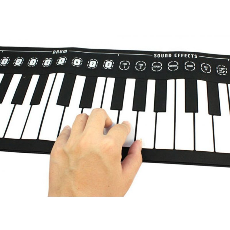 Silicone Roll-Up Piano