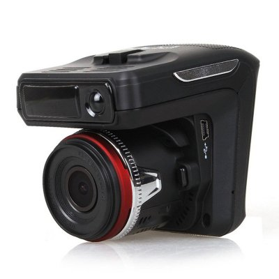 Car DVR With Anti-Radar Detector
