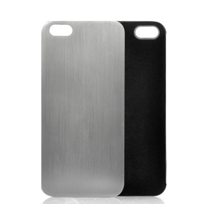 Soft Inner Lining Metal Case for iPhone 5