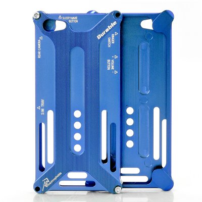 Metal Case for iPhone 5 Blue