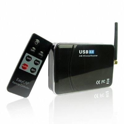 Wholesale Wireless USB 2 0 Camera Receiver + PC Recording
